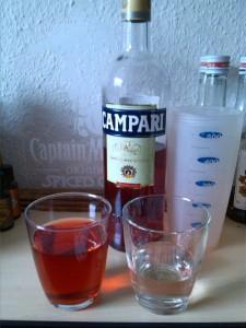 Campari-Eiswürfel 1