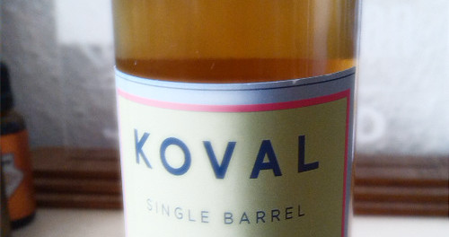 Illinois Twisted Whiskey – Koval Single Barrel Bourbon