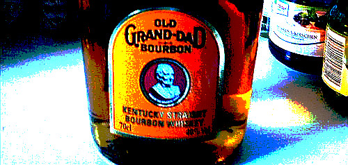 Eher Charlton Heston als Cary Grant – Old Grand-Dad Bourbon40%