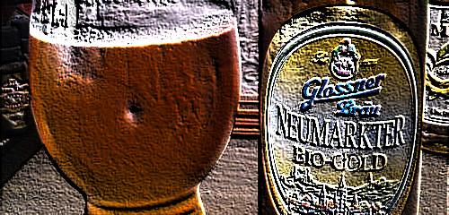 Schnell austrinken – Glossnerbräu NeumarkterBio-Gold