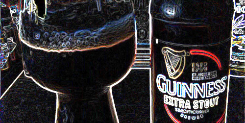 My goodness! Guinness Extra Stout
