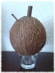 Kokosrum, fertig