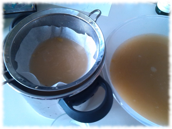 tepache-filtering