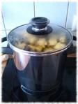 Tepache, nach dem Kochen