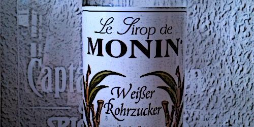 """Das süße Leben – Monin-Sirup """"Weißer Rohrzucker"""""""