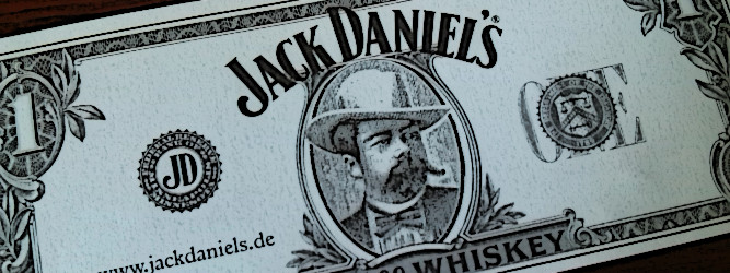Bananensaft, die zweite – Jack Daniel's Single Barrel Select Tennessee Whiskey