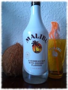 malibu-flasche