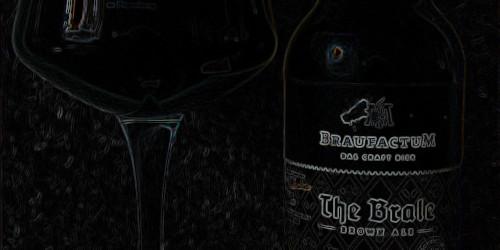 Schwarzbraun ist die Haselnuss, schwarzbraun ist auch das Brale – BraufactuM The Brale BrownAle