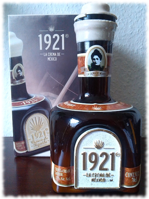 1921cremadetequila-flasche
