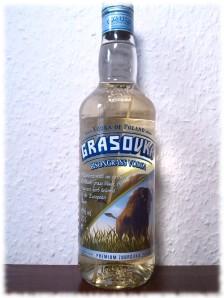 grasovka-flasche
