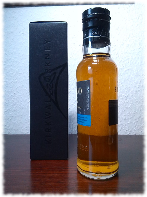 Highland Park 10 Years Single Malt Whisky Flaschenseite