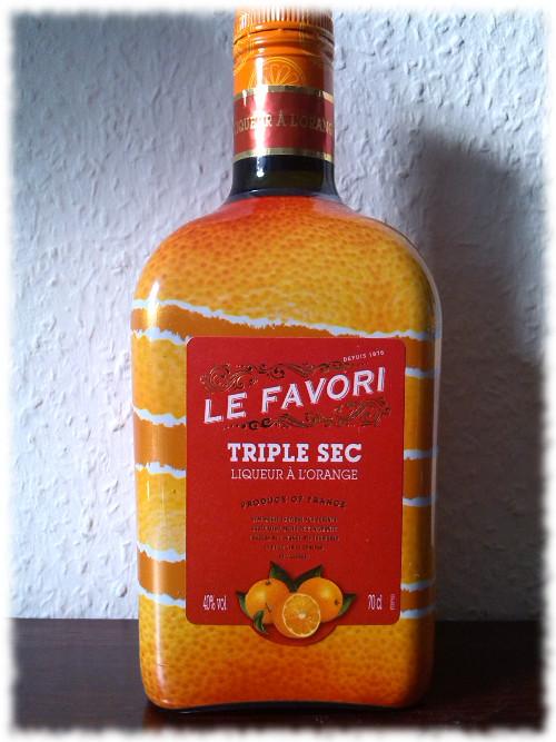Le Favori Triple Sec Liqueur à l'Orange Flasche