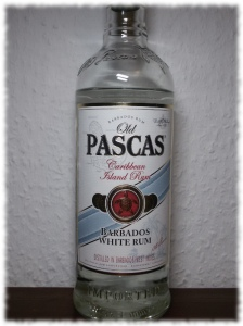 Old Pascas Barbados White Rum Flasche