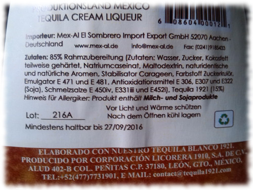 1921cremadetequila-zutaten
