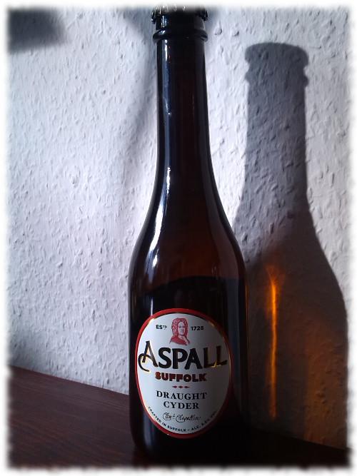 Aspall Draught Cyder Flasche