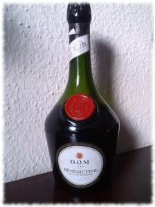 benedictine-flasche