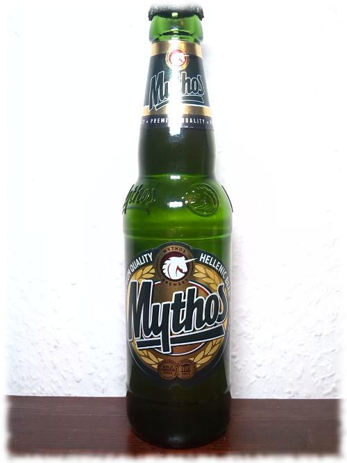 mythos-flasche