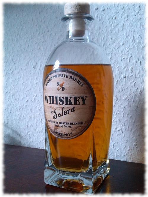 whiskeysolera-flasche