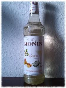 Monin Sirop de Gomme Flasche