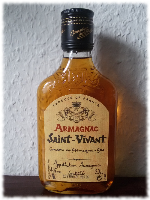 Armagnac Saint-Vivant Flasche
