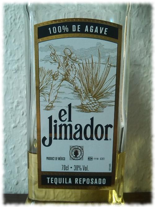 El Jimador Tequila Reposado Etikett