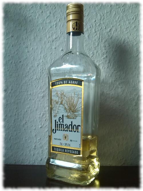 El Jimador Tequila Reposado Flasche