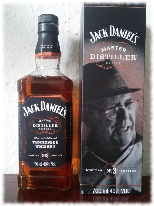 Jack Daniel's Master Distiller Series No 3 Flasche