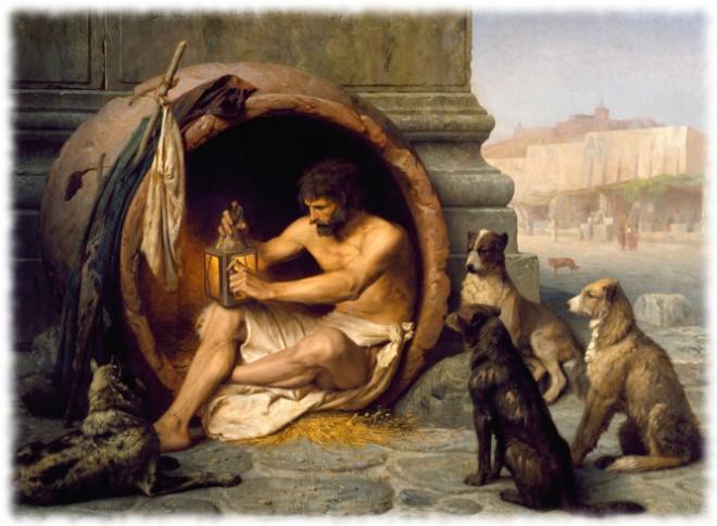 Jean-Léon Gérôme: Diogenes