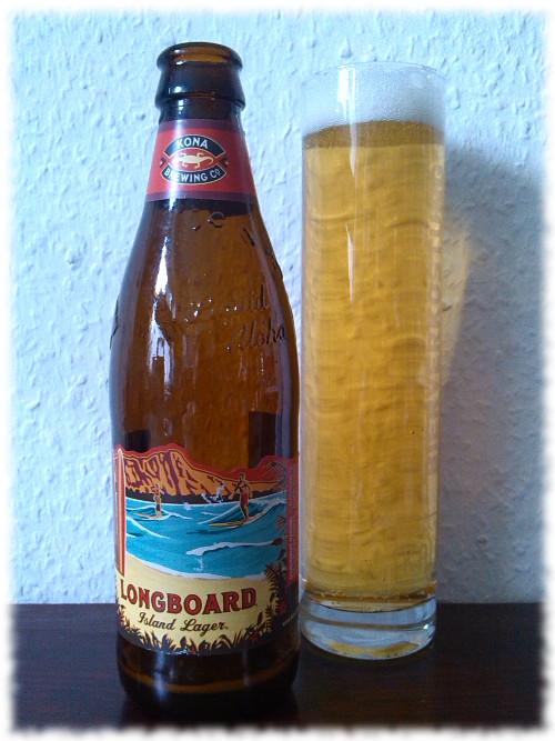 Kona Brewing Longboard Island Lager Glas