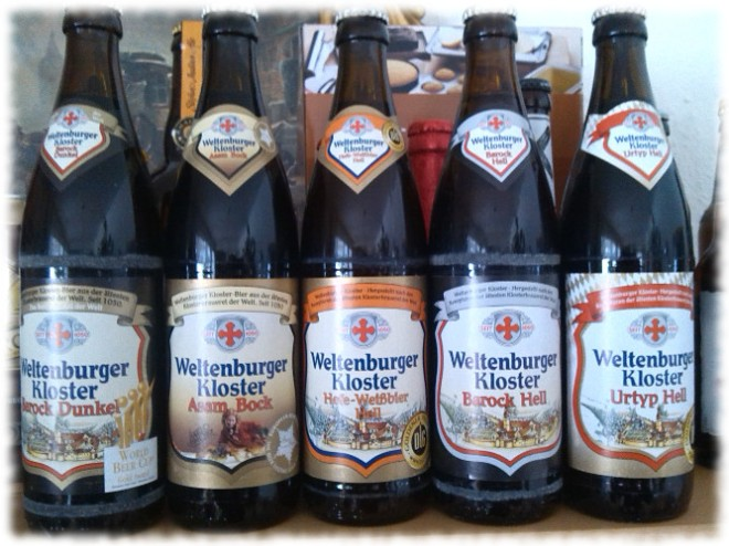 Weltenburger Kloster 5 Biersorten