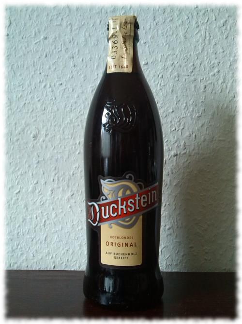Duckstein Rotblondes Original Flasche