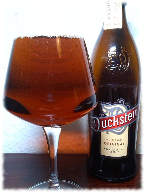 Duckstein Rotblondes Original Glas