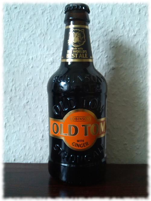Robinsons Old Tom Strong Ale with Ginger Flasche