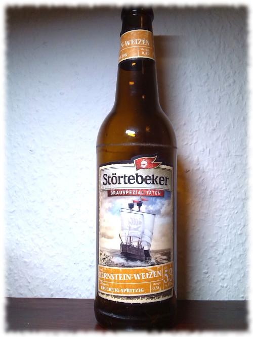 Störtebeker Bernstein-Weizen Flasche