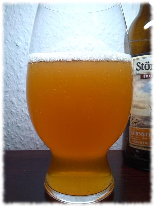 Störtebeker Bernstein-Weizen Glas