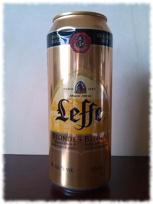 Leffe Blonde Dose