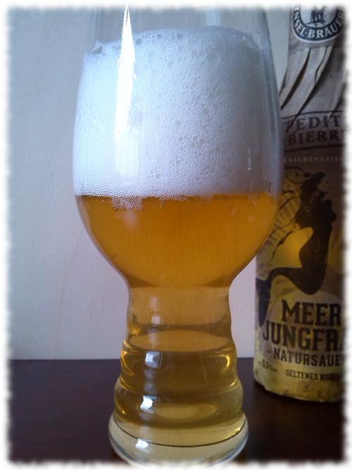 Rügener Insel-Brauerei Meerjungfrau Glas