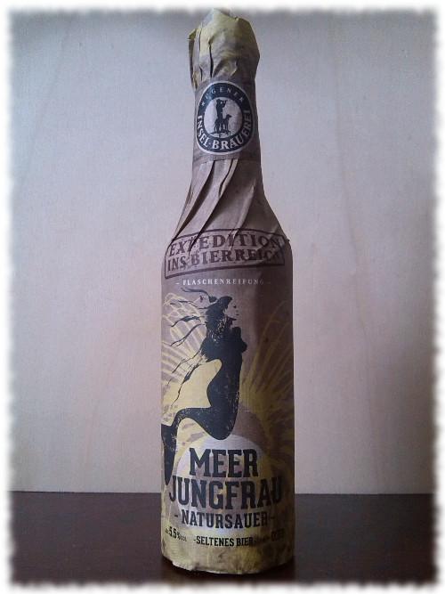 Rügener Inselbrauerei Meerjungfrau Natursauer Flasche