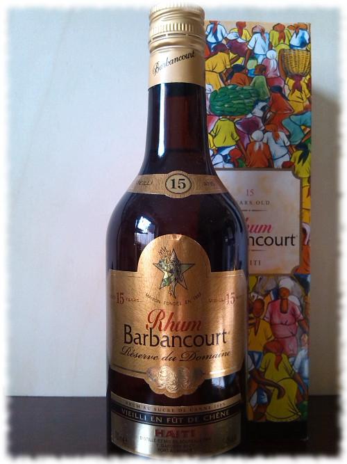 Rhum Barbancourt Réserve du Domaine Flasche