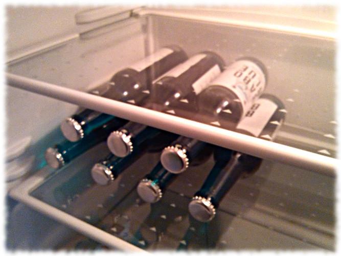 Babo Blue Biermischgetränk Kühlschrank