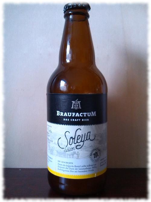 BraufactuM Soleya Saison Flasche
