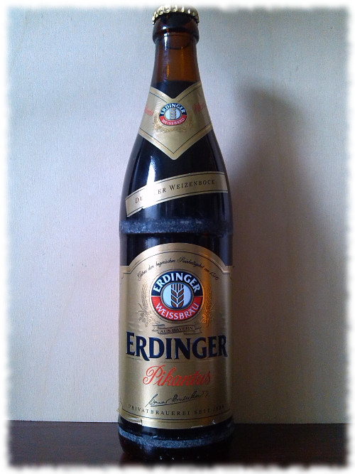 Erdinger Pikantus Dunkler Weizenbock Flasche