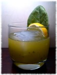 Sorrel Rum Smash