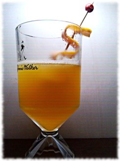 Hefeweizen Summer Beer Cocktail