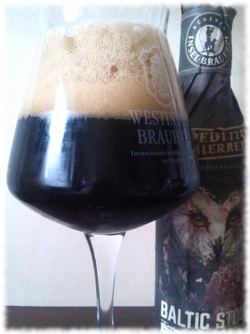 Rügener Insel-Brauerei Baltic Stout Glas