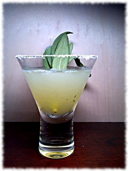 Tequila Sage Smash