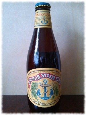 Anchor Steam Beer Flasche