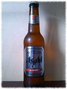 Asahi Super Dry Flasche