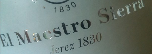 El Maestro Sierra Oloroso Sherry Titel