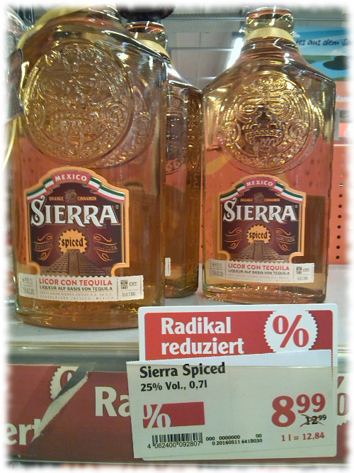 Sierra Spiced Angebot